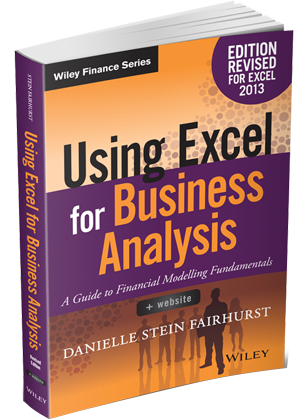 Using Excell for Business Analysis book