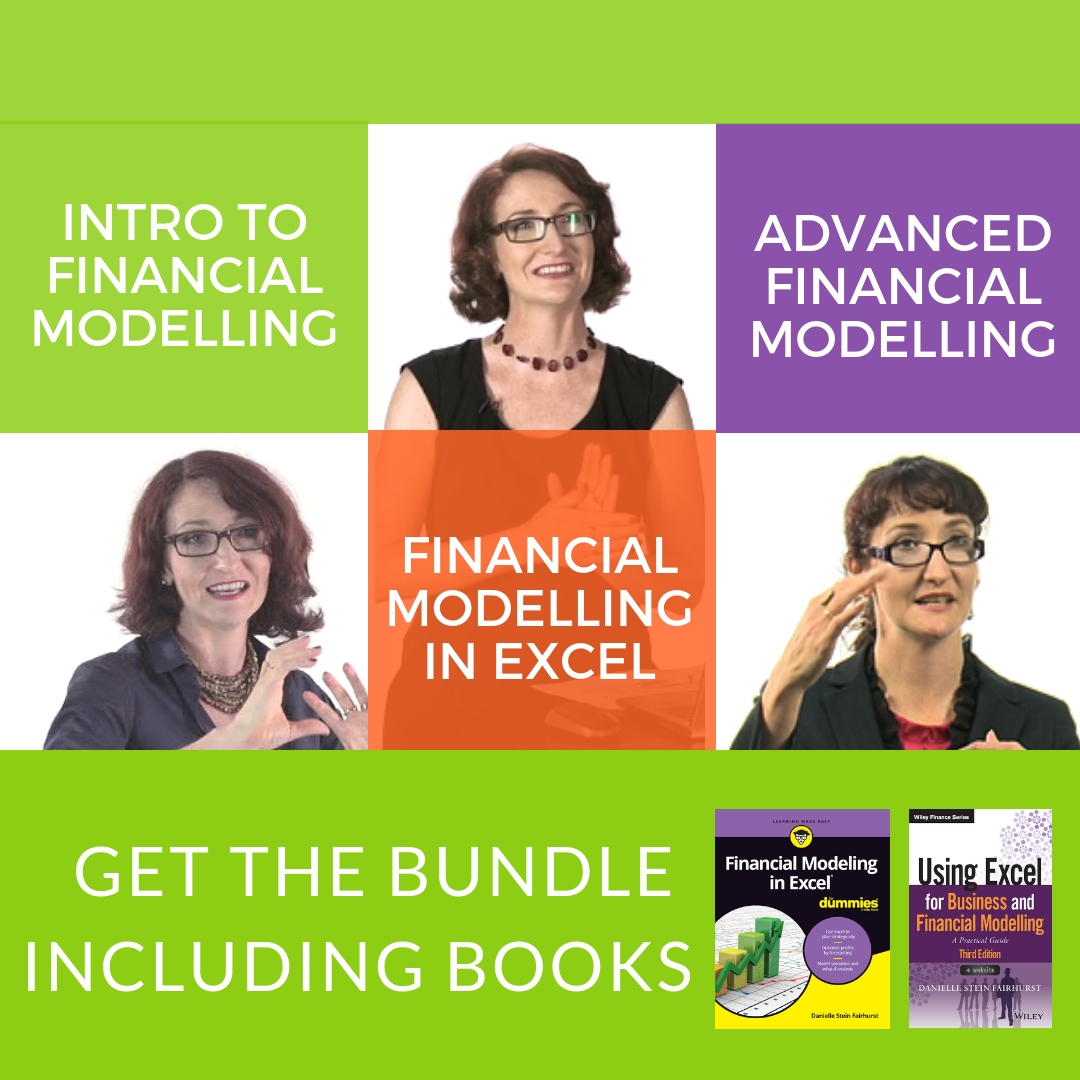 Online Financial Modelling Bundle (with Books)
