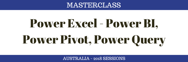 PowerPivot Masterclass