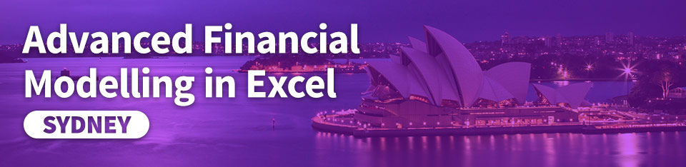 Advanced Financial Modelling in Excel (Syd) | Plum Solutions