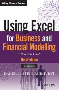 Using Excel for Business and Financial Modelling 3rd Edition Book Cover