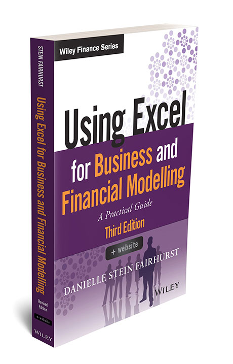 Using Excel For Business And Financial Modelling Plum