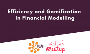 Efficiency and Gamification in Financial Modelling